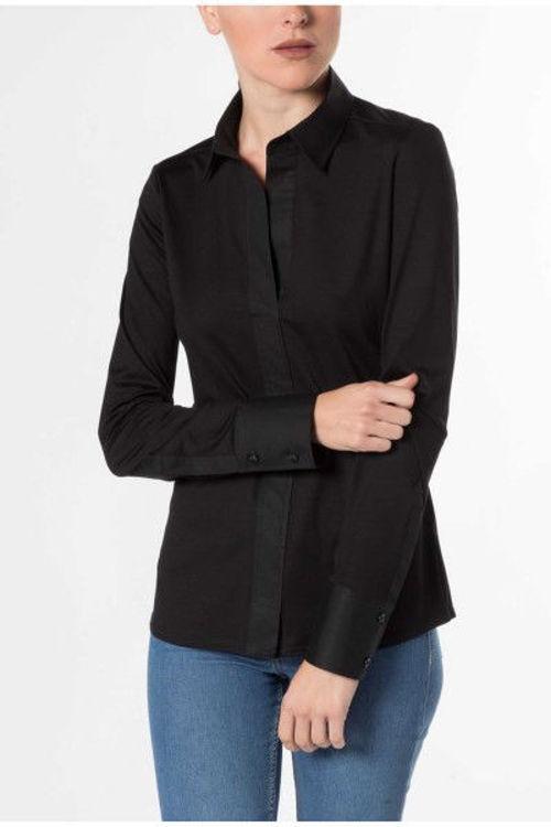 Eterna Modern Classic skjorte sort