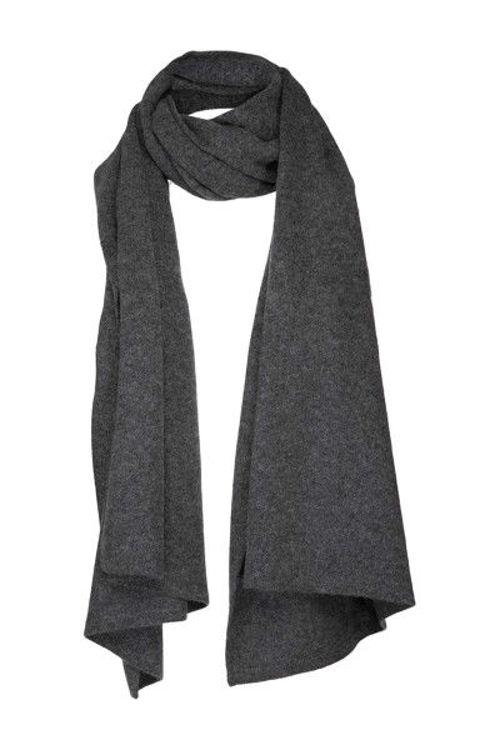 Hosbjerg Dane kashmir tørklæde dark grey