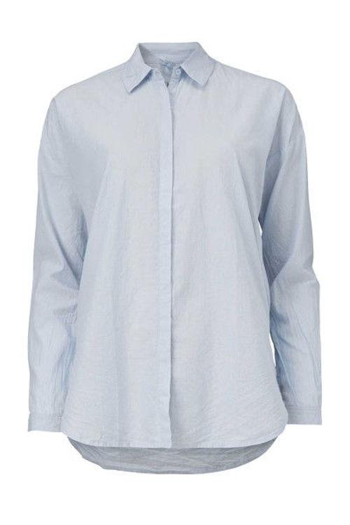 Aiayu slim skjorte bomuld heaven
