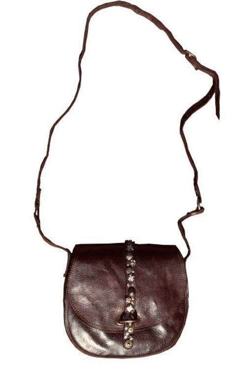 Campomaggi Bandolira lædertaske brun