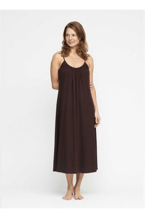 Moshi Moshi Mind Cave jersey kjole french brown