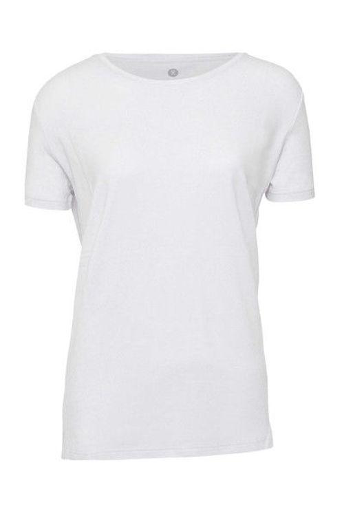 JBS of Denmark basic T-shirt bambus hvid