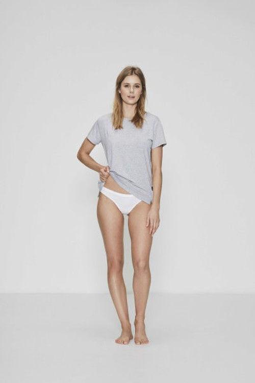 JBS of Denmark basic T-shirt bambus grå