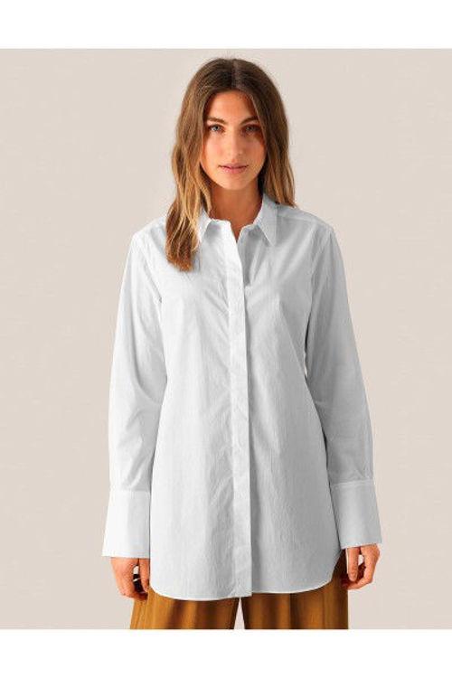 Second Female Larkin Classic skjorte hvid