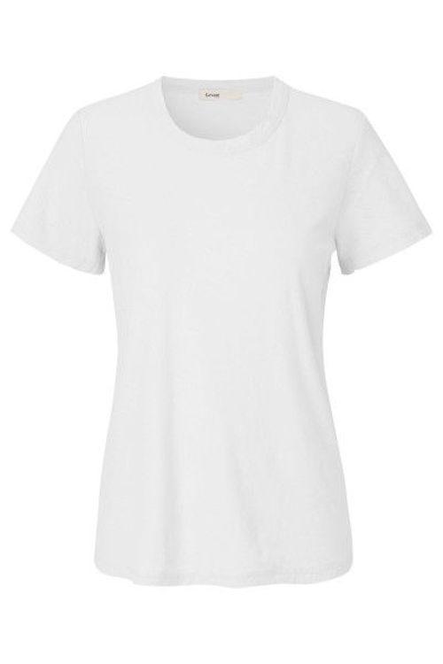 Leveté Room Any T-shirt rund hals hvid