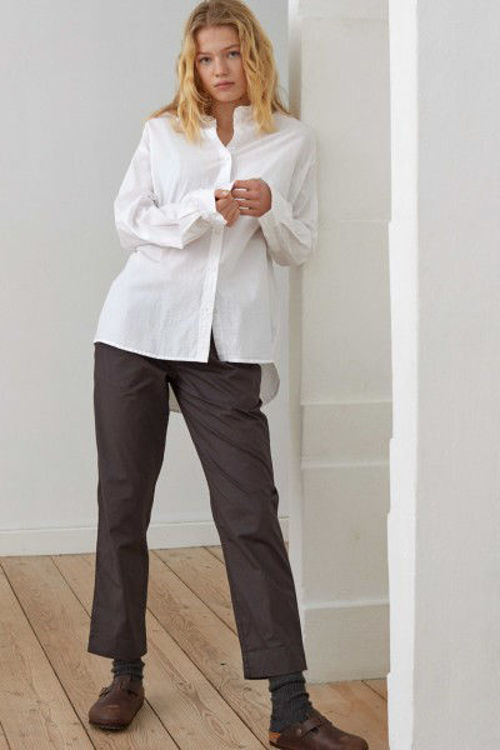 Aiayu bomulds skjorte hvid