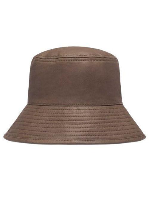 Depeche Bucket læder bøllehat tabocco