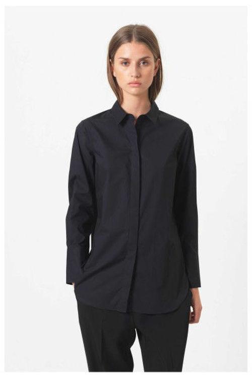 Second Female Larkin LS Classic skjorte sort