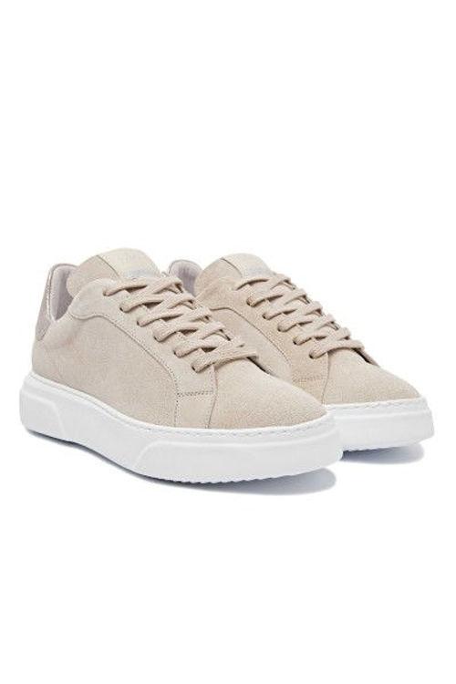 Via Vai Juno sneakers ruskind calcare platino