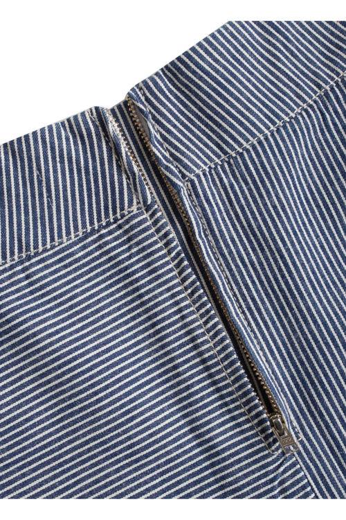 Mads Nørgaard Stelly C nederdel blue striped