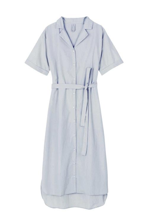 Aiayu Agnes kjole blue glass