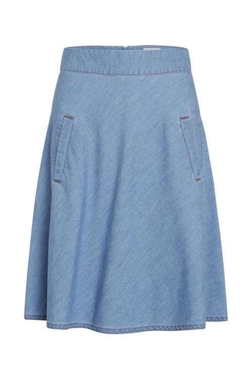 Mads Nørgaard Stelly nederdel soft blue