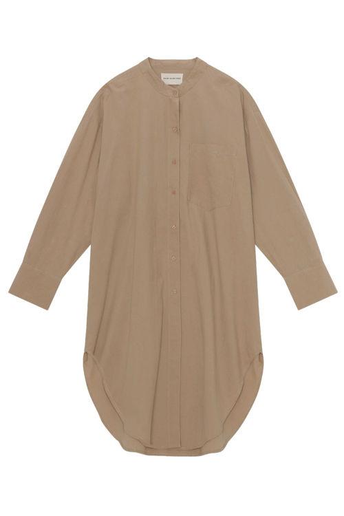 Moshi Moshi Mind Believe skjortekjole whey beige