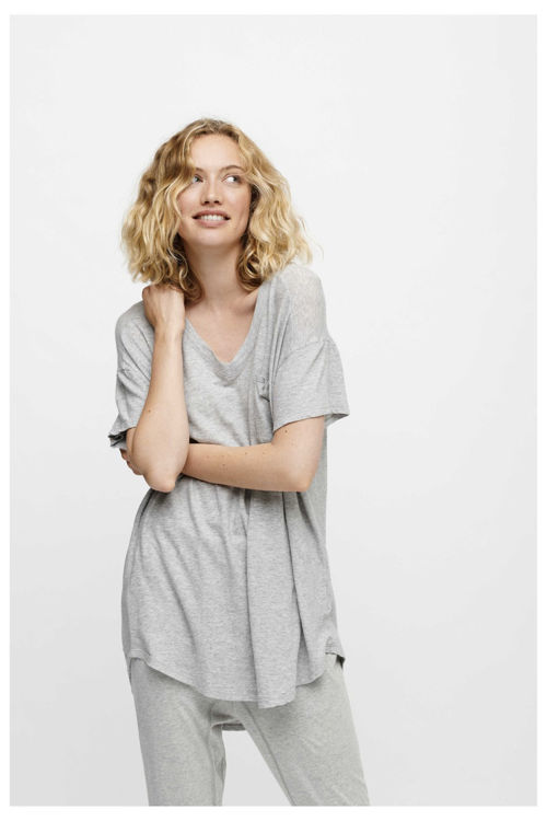 Moshi Moshi Mind Dreamy T-shirt light grey melange
