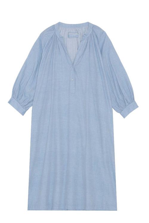 Moshi Moshi Mind Forever skjortekjole chambray lys
