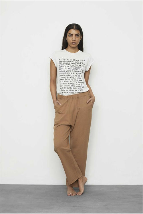 Rabens Saloner Nella T-shirt chalk