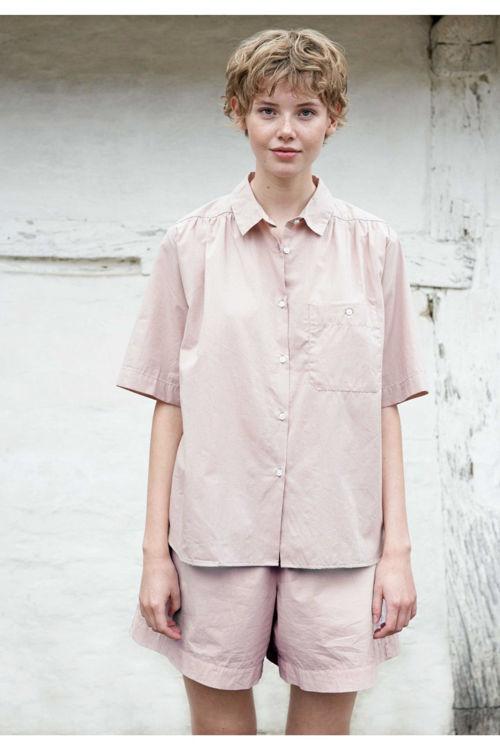 Aiayu Anna kortærmet skjorte flere farver