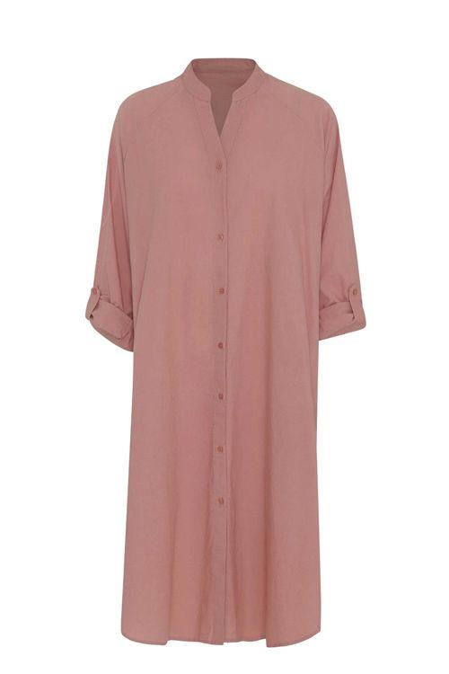 Moshi Moshi Mind Remain skjortekjole desert rose
