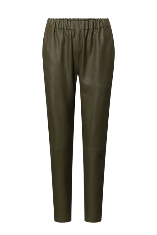 Depeche Pant leather forest green