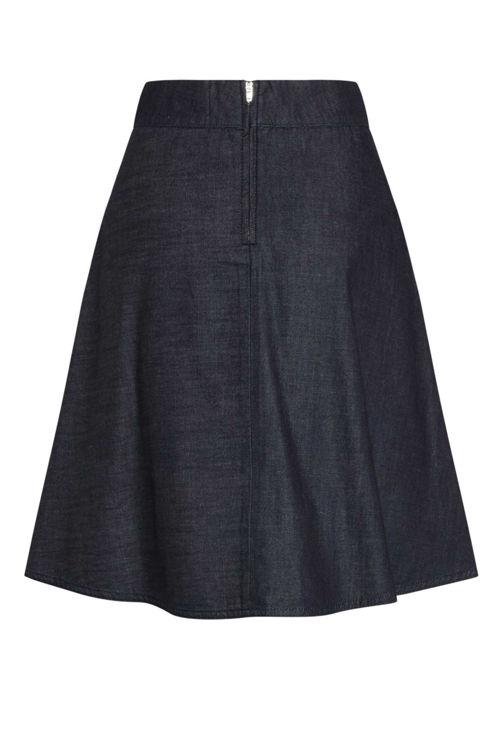 Mads Nørgaard Stelly nederdel indigo unwashed