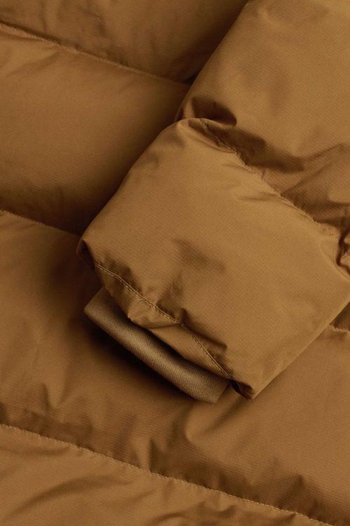 Mads Nørgaard Jolene recycle dunfrakke breen