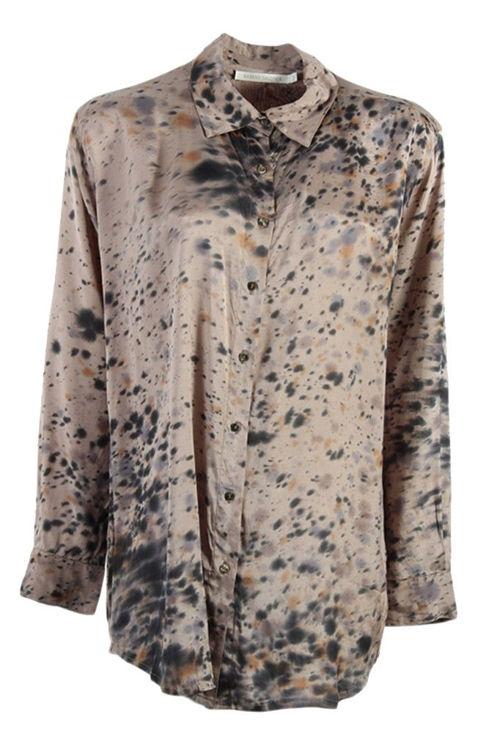 Rabens Saloner Rosali Speckle skjorte